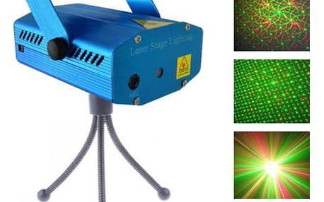 Disco laser – laserový projektor