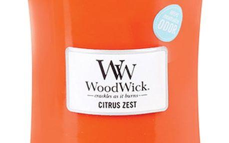 WoodWick Svíčka oválná váza WoodWick Citrusy a květ mandarinky, 609.5 g