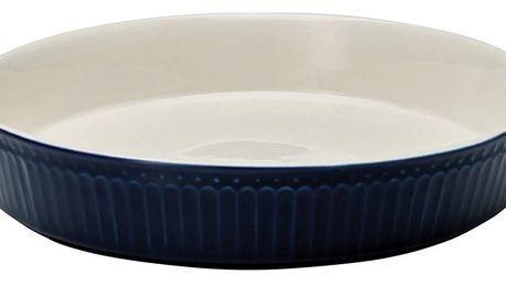 Tmavě modrá kameninová forma na koláč Green Gate Alice Pie, průměr24,5cm
