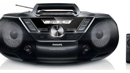 Radiomagnetofon s CD Philips AZ787 (AZ787/12)