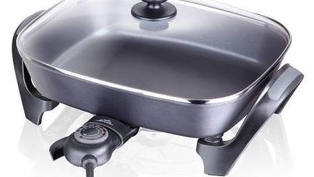 Pečicí pánev ETA Piesta 2160 90000 černá/sklo + Doprava zdarma