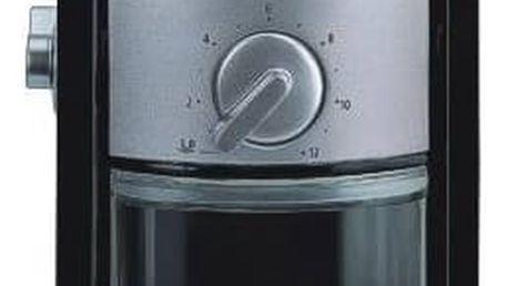 Kávomlýnek Krups GVX242 černý/nerez + Doprava zdarma