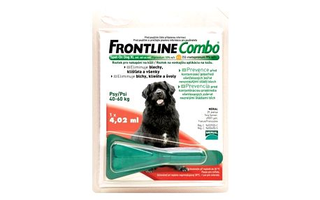 Frontline Combo Spot-on Dog XL sol 1x4,02ml, pro obří psy