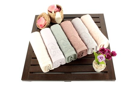 Saheser Sada šesti ručníků 30 x 50 cm 321SHS1104