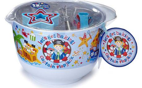Pečící set na cukroví pro děti Cooksmart England Pirate, 12 ks