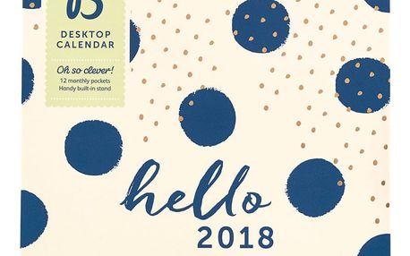 Stolní kalendář Busy B Fashion 2018