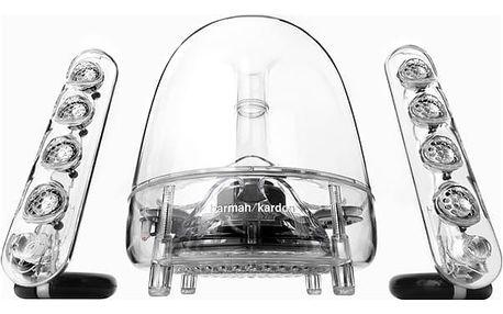 Reproduktory Harman Kardon Soundsticks III průhledný + DOPRAVA ZDARMA