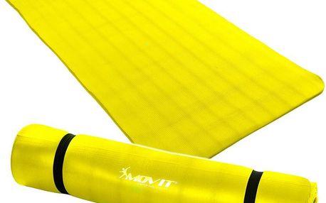 MOVIT 32910 Gymnastická podložka 190 x 100 x 1,5 cm žlutá