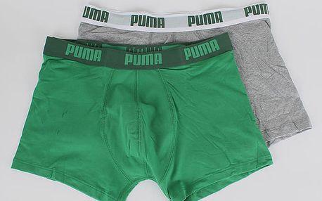 Boxerky Puma Basic Boxer 2 Pack amazo Barevná