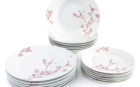 18dílná jídelní sada Sakura