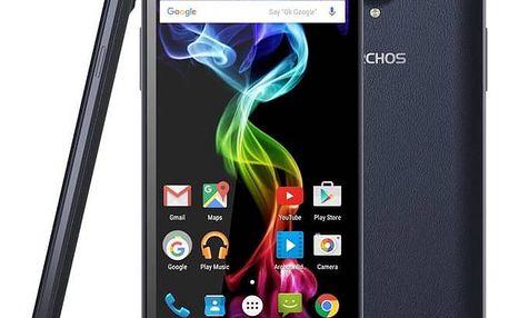 Mobilní telefon Archos 55B Platinum (503260) modrý