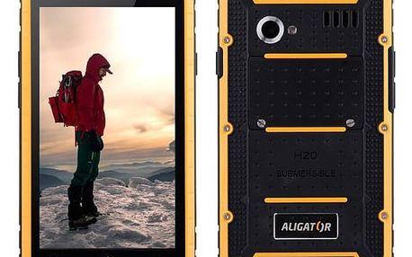 Mobilní telefon Aligator RX460 eXtremo 16 GB Dual SIM (ARX460BY) černý/žlutý
