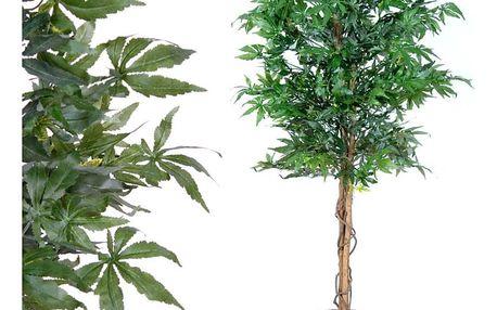 Umělá rostlina strom - konopí - 150 cm