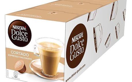 Set (3x Kapsle pro espressa Nescafé Dolce Gusto CORTADO )