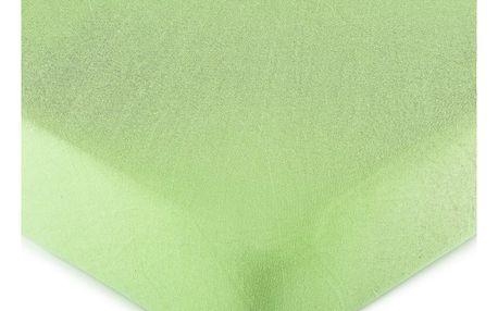 4Home jersey prostěradlo zelená, 180 x 200 cm