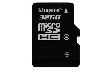 Paměťová karta Kingston 32GB Class4 (SDC4/32GBSP)