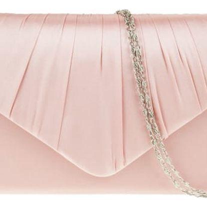 Dámské světle růžové psaníčko Side 8002