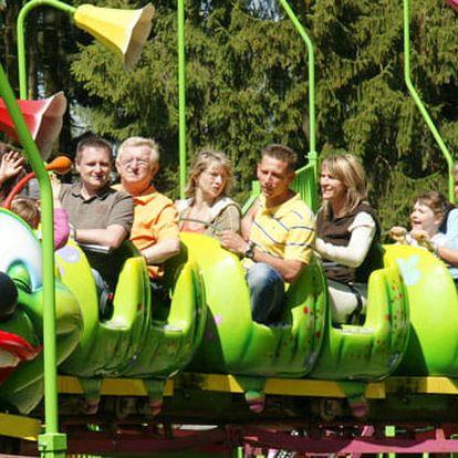 Výlet do zábavní parku Freizeitpark Plohn v Německu pro 1 osobu