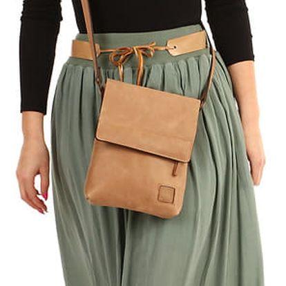 Jednobarevná maxi sukně s kapsami khaki