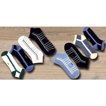 8 párů pánských bavlněných ponožek