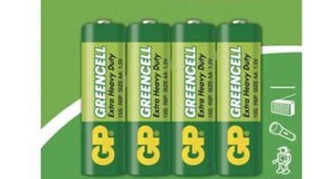 Zinkochloridová baterie GP Greencell