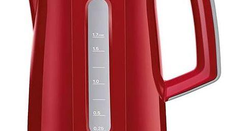 Rychlovarná konvice Bosch TWK3A014 červená + navíc sleva 10 % + Navíc sleva 10 %