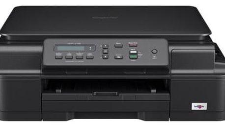 Tiskárna multifunkční Brother DCP-J105, INK Benefit (DCPJ105YJ1) černá A4, 27str./min, 10str./min, 6000 x 1200, 64 MB, WF, USB + DOPRAVA ZDARMA