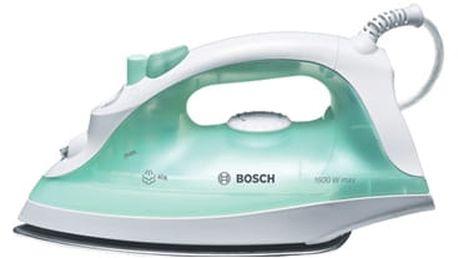 Žehlička Bosch TDA2315 bílá/zelená