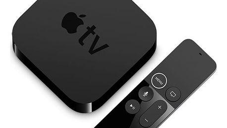 Multimediální centrum Apple TV 4K 64GB (mp7p2cs/a) černý + DOPRAVA ZDARMA