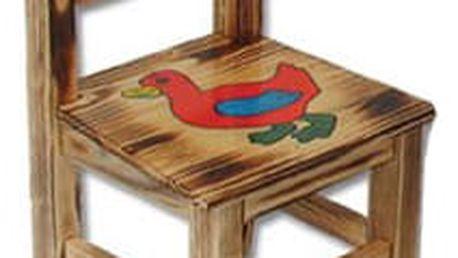 Dětská židlička s obrázkem AD230