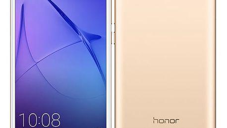 Mobilní telefon Honor 6A Dual SIM (51091UFW) zlatý + DOPRAVA ZDARMA