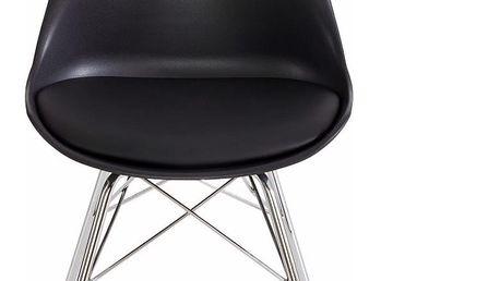 Sada 4 černých jídelních židlí Støraa Jenny - doprava zdarma!