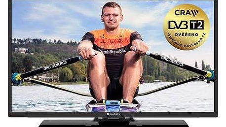 Televize GoGEN TVF 32P471T černá + Doprava zdarma