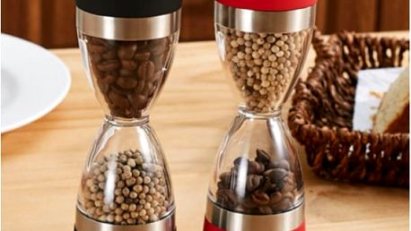 Ruční mlýnek 2 v 1 na kávu a koření