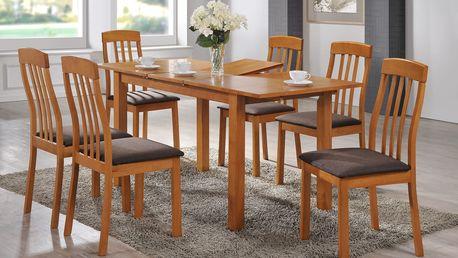 Jídelní stůl ADAM + židle NILO