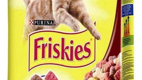 Granule FRISKIES Cat maso a zelenina 10 kg