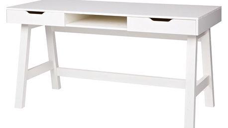 Bílý psací stůl De Eekhoorn Nikki - doprava zdarma!