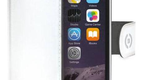 Pouzdro na mobil flipové Celly Wally pro Apple iPhone 6/6s (WALLY700WH) bílé