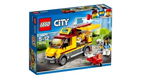 Stavebnice LEGO® CITY GREAT VEHICLES 60150 Dodávka s pizzou