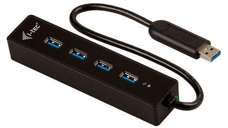 USB Hub i-tec USB 3.0 / 4x USB 3.0 (U3HUB401) černý