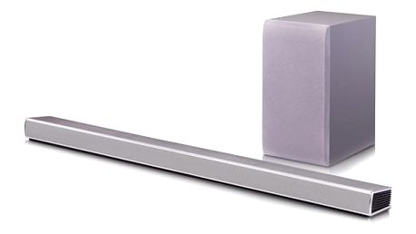 Soundbar LG SH5 stříbrný + DOPRAVA ZDARMA