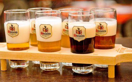 Degustace piva z Pivovaru Svijany pro 2 osoby