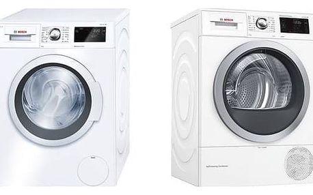 Set výrobků Bosch WAT28660BY + WTW876WBY + navíc sleva 10 % + Navíc sleva 10 % + Doprava zdarma