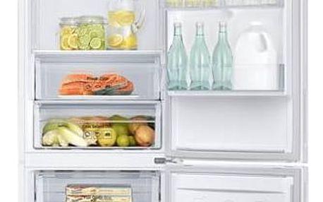 Kombinace chladničky s mrazničkou Samsung RB37J500MWW/EF bílá + navíc sleva 10 % + Navíc sleva 10 % + Doprava zdarma