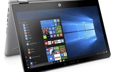 Notebook HP 14 x360-ba005nc (1VB16EA#BCM) stříbrný + DOPRAVA ZDARMA