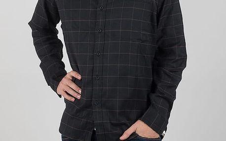 Košile LEVI'S Cm Pro Work Shirt Commuter Grid Caviar Černá