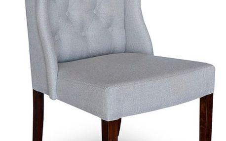 Světle šedá jídelní židle Massive Home Michelle - doprava zdarma!