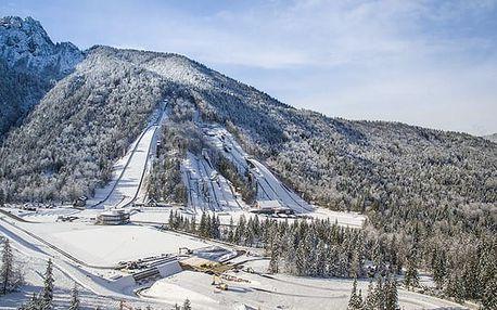 Best Western Hotel Kranjska Gora****, Aktivní dovolená v lyžařském středisku ve slovinských Alpách