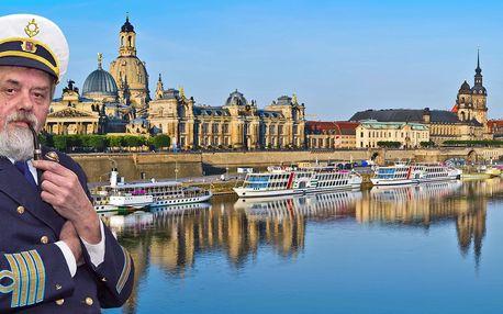 Zážitková plavba do Drážďan s programem a jídlem