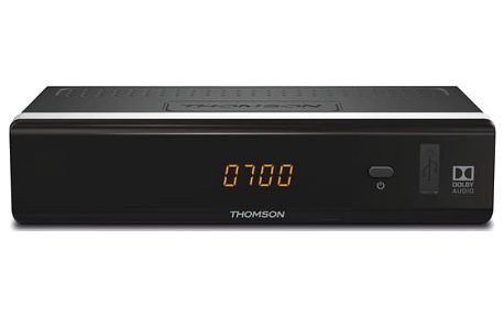 DVB-T přijímač Thomson THT712 (THT712) černý